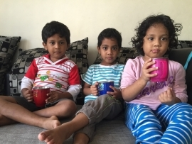 Varshith Break time with Cousins